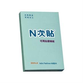 N次貼 61111(11146) 3*2便條紙 藍色