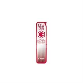PILOT百樂 HRF-3G 超級G鉛筆芯0.3mm 2B