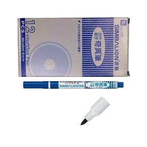 雄獅 600 12入-細字奇異筆1.0mm 藍