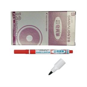雄獅 600 12入-細字奇異筆1.0mm 紅