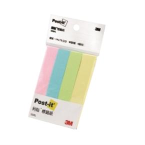 3M Post-it 550RL利貼可再貼付簽紙4色