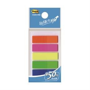 3M Post-it 583-5非抽取式-可再貼全彩標籤5色