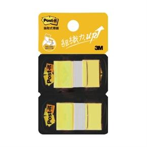3M Post-it 681 N-5D抽取式利貼標籤(黃)