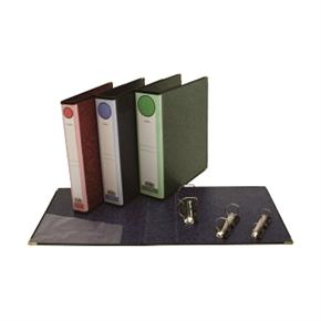 自強 C15 D型三孔資料夾(綠)