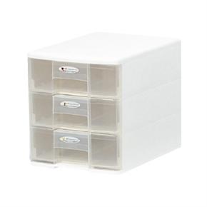 樹德 PC1103PC03 玲瓏盒白色