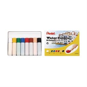 Pentel飛龍 HTP-8 8色不透明軟管水彩