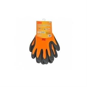 3M Scotch 舒適型止滑耐磨手套 橘色 (L)