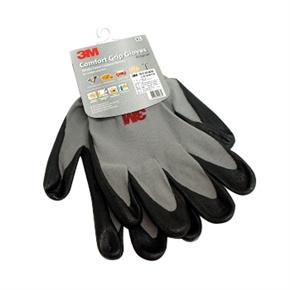 3M Scotch 舒適型止滑耐磨手套 灰色 (M)