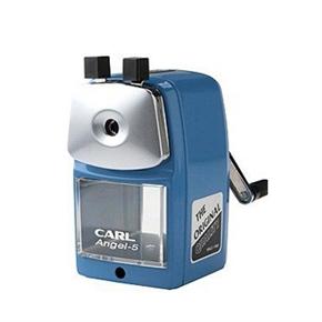 CARL A-5鐵製削筆機(藍)