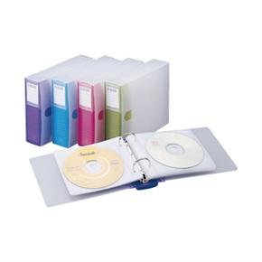 雙鶖 CD-6508  24片翡翠活頁式CD保存夾