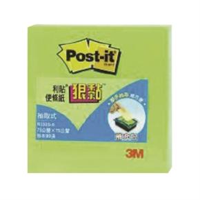 3M Post-it R330S-6狠黏抽取式便條紙(綠)
