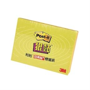 3M-Post-it-621S-1狠黏便條紙(黃)