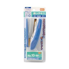 MAX HD-10DK 釘書機(含針) 藍