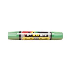 利百代 908 麥克筆 特大雙頭 綠色