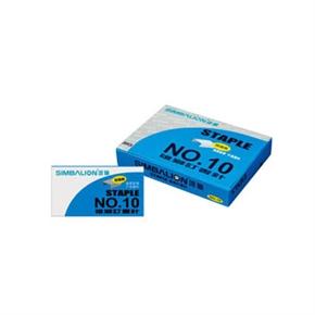 雄獅 NO.10釘書針(藍盒) 800盒一箱