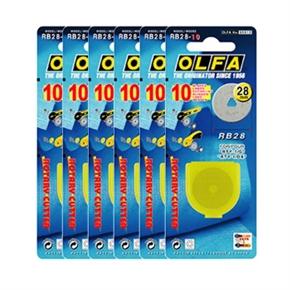 OLFA RB28-10 圓形刀片 6盒一組