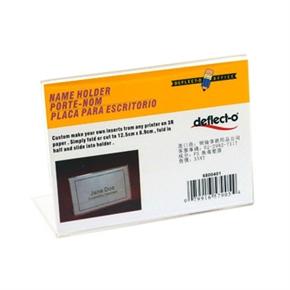 deflect-o迪多 6800501 L型標示架(橫式)-4*6