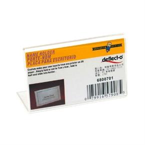 deflect-o迪多 6800701 L型標示架(橫式)-70*40mm
