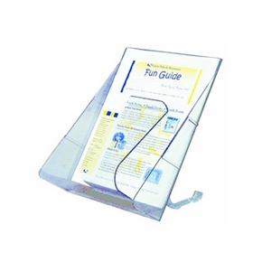 deflect-o迪多 53501直立式目錄架(有腳架)- A4