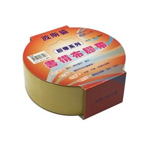 波斯貓 36mm布膠帶 黃