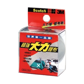 3M Scotch 132DC超強大力膠帶(灰)