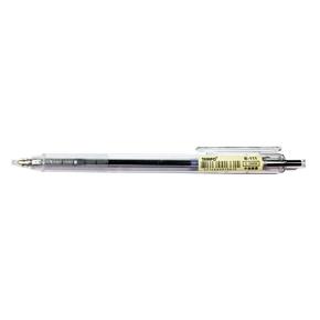 TEMPO B-111 透明桿0.5中油筆 黑