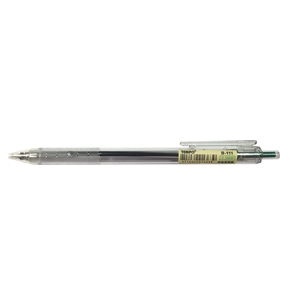 TEMPO B-111 透明桿0.5中油筆 綠