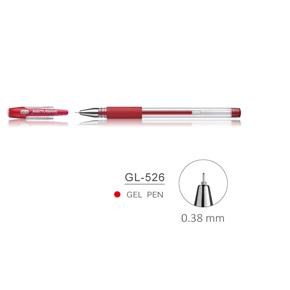 雄獅 GL-526中性筆0.38mm(紅色)