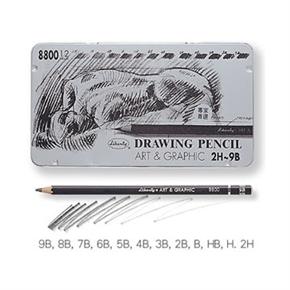 利百代 CB8800 專家用繪圖鉛筆 2H~9B