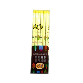 雄獅 1101 HB昆蟲寶貝三角鉛筆