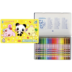 LIBERTY CC-075可愛家族抗菌36色色鉛筆