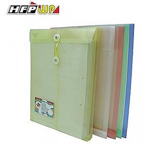 HFP GF118-N 壓花文件袋+名片袋(紅)