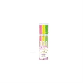 ZEBRA WKS18-3C 閃漾螢光筆 三色組