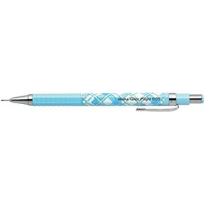利百代 MA53-CLP自動鉛筆 菱格紋淺藍(贈送子鳥L夾)