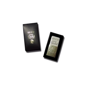 SEED ER-M01 GOLD天然橡皮擦(金色握殼)
