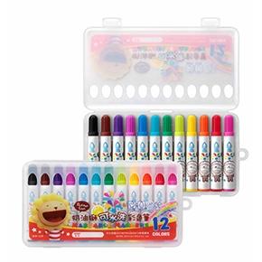 奶油獅12色水洗彩色筆