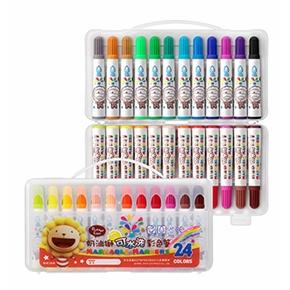 奶油獅24色水洗彩色筆