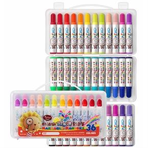 奶油獅36色水洗彩色筆
