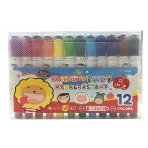 SM-001 奶油獅印章彩色筆