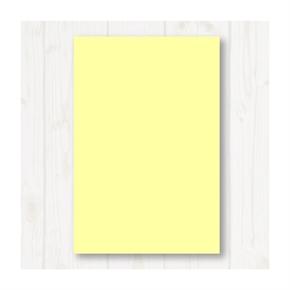 A4 80P彩色影印紙 淺黃 #110