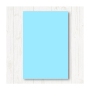 A4 80P彩色影印紙 淺藍 #120