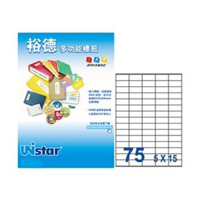 裕德US2610-20 U32多功能標籤 白