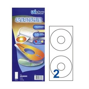 裕德US48660-50 U54多功能光碟標籤 白