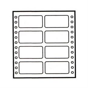 鶴屋 3565 電腦連續標籤35*65mm(盒)