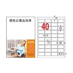 龍德 LD-8116-W-C A4三用電腦標籤