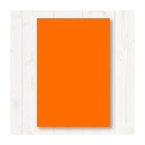 A4 80P彩色影印紙 橘 #240