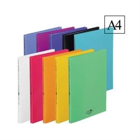 LIHIT A4書本式資料本20入 白色 N-5061-0