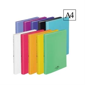 LIHIT 40入A4書本式資料本 白色 N-5063-0
