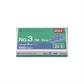 MAX MAX-3-1M(24-6) 釘書針