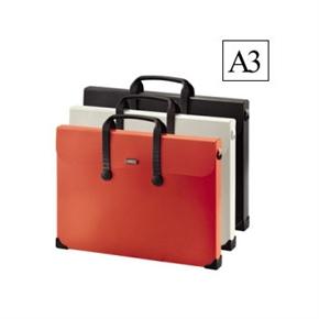 LIHIT A3萬用袋 橘色 A-7631-4